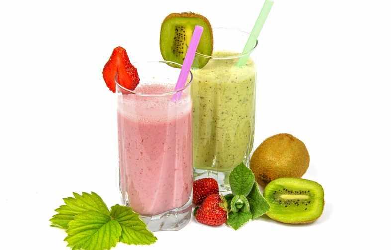 gezonde en frisse smoothie