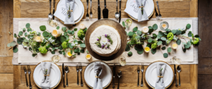 bruiloft eten