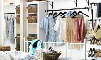 opslagruimte kleren