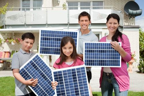 duurzame energiemaatschappij zonnepanelen