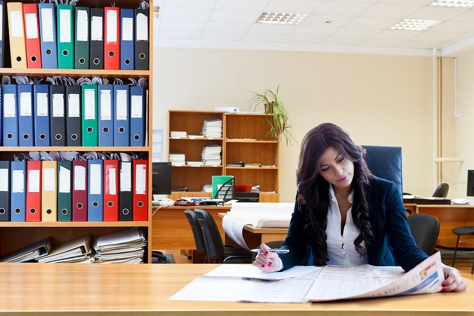 kantoorruimte huren vrouw