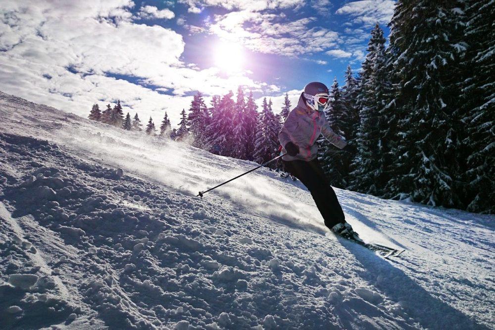 denk aan je huid wintersport