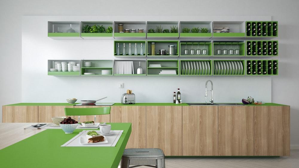 nieuwe keukenkasjes