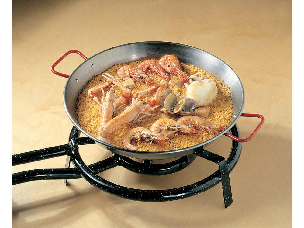 Waarom paella bereiden met een gasbrander?