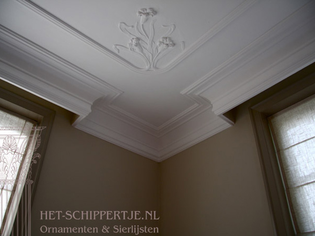 Plafondlijsten en ornamenten
