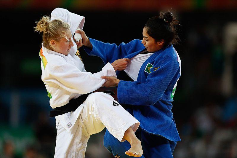 sport voor zelfverdediging